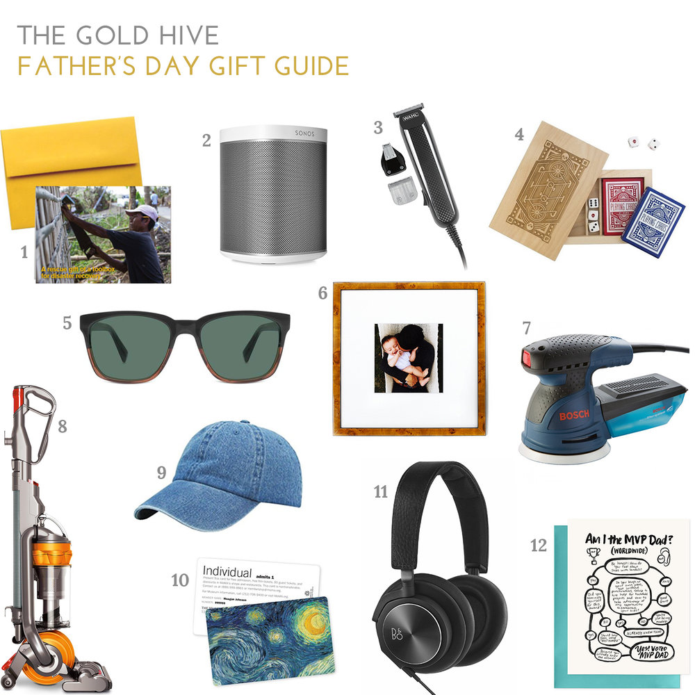 The Gold Hive Father's Day Gift Guide 2017