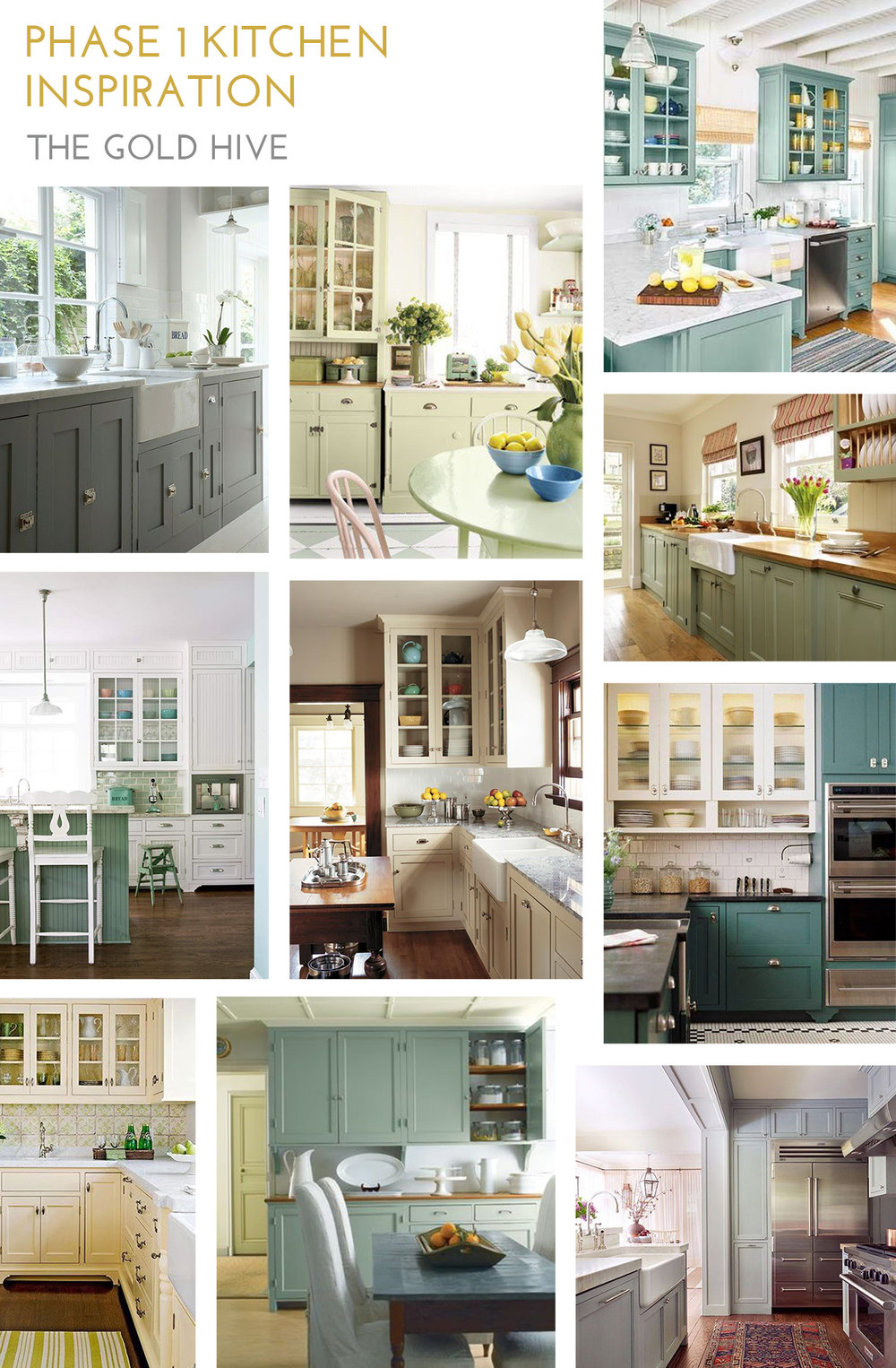 The Gold Hive Kitchen Inspiration