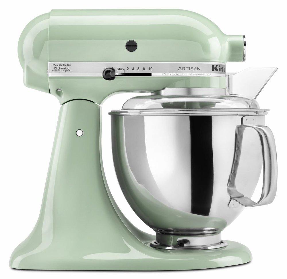 Kitchenaid Pistachio Mixer
