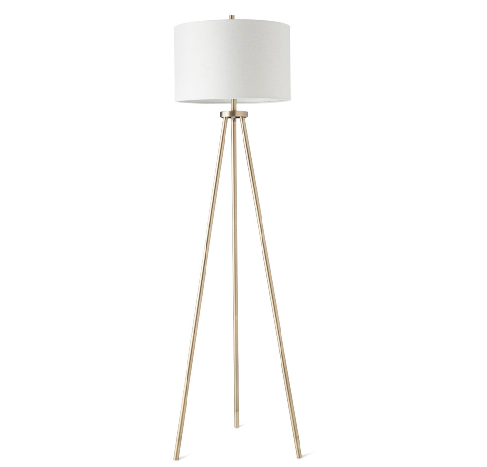 Copy of Copy of Copy of Target brass floor lamp
