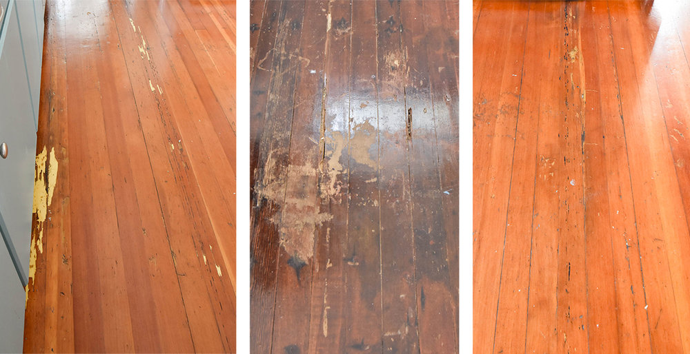 The Gold Hive Kitchen Flooring Damage