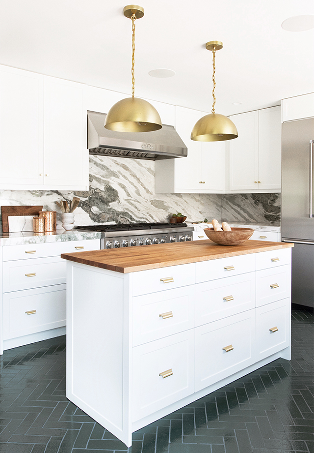 trullbrook residence kitchen 90% reveal!