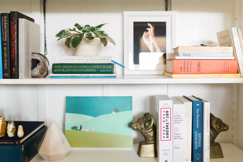 The Gold Hive Shelf Styling