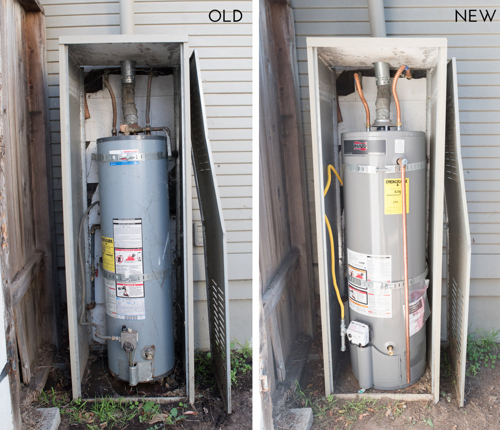 new water heater - New Water Heater