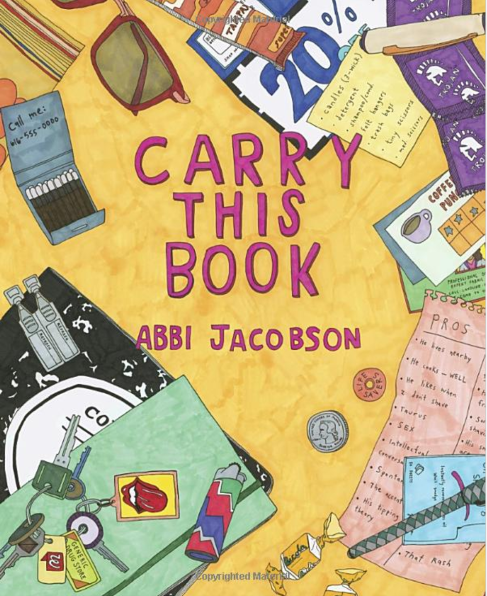 Copy of Copy of Copy of Abbi Jacobson Carry this Book