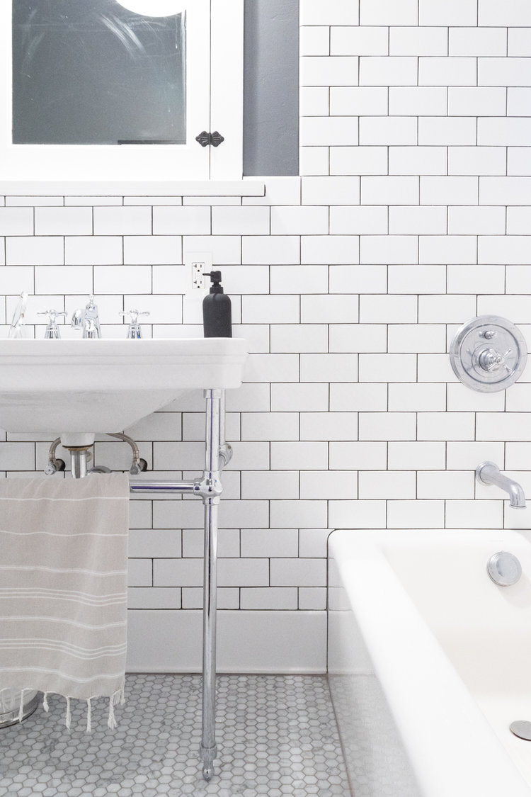 Classic Tile in the Bathroom — The Gold Hive