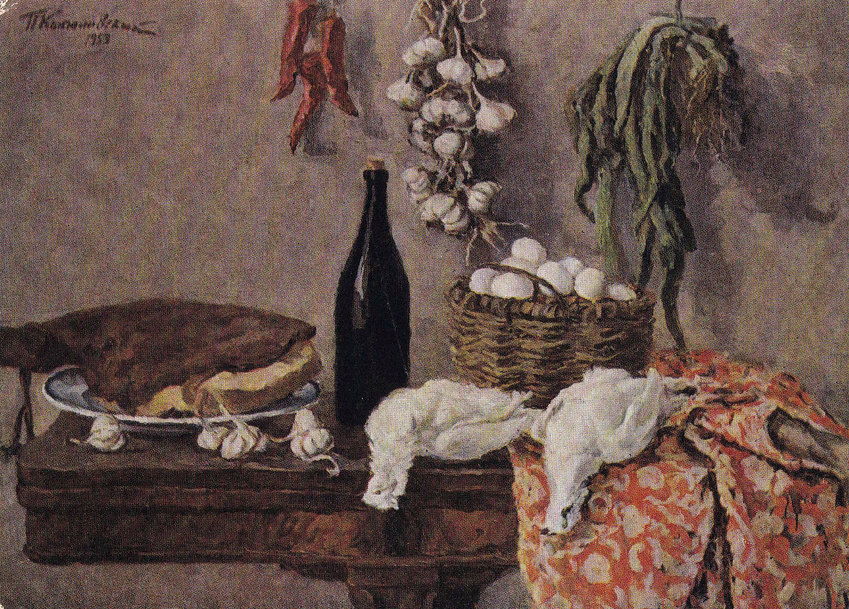 Still Lifes with dead game. Set of 12 Vintage Prints, Postcards -- 1960s-1980s