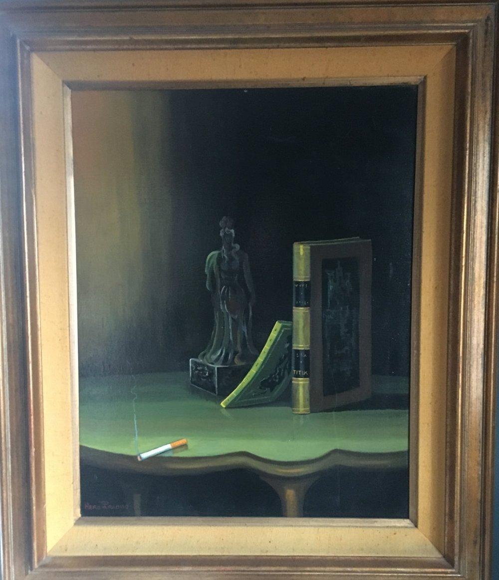 Vintage Hero Paradiso Oil Painting- Memento Mori