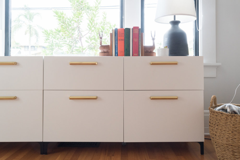 Ikea File Credenza : One room challenge week ikea hack for custom office storage