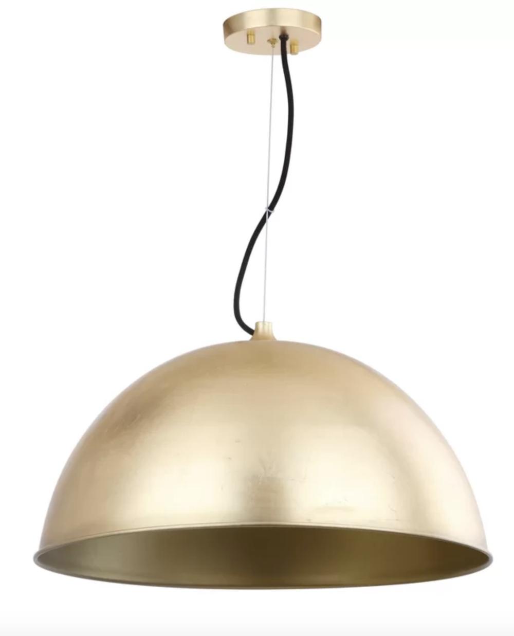 Copy of Copy of All Modern brass pendant