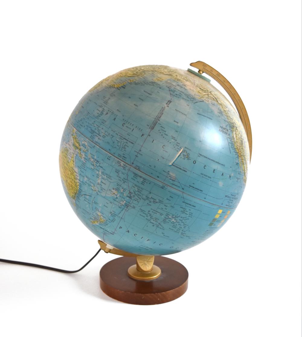 Copy of Copy of Vintage Illuminated Globe