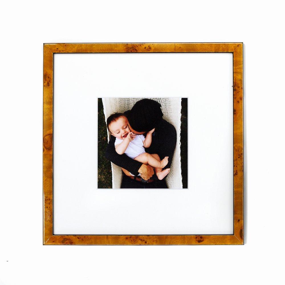 Custom Framed Family Photo