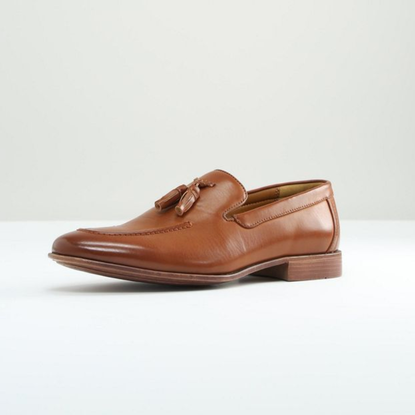 Tassel Faux Leather Loafer