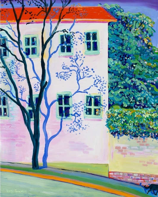 I CAUGHT A TREE DAYDREAMING IN BALMAIN BY KERRY THOMPSON ON ARTFULLY WALLS