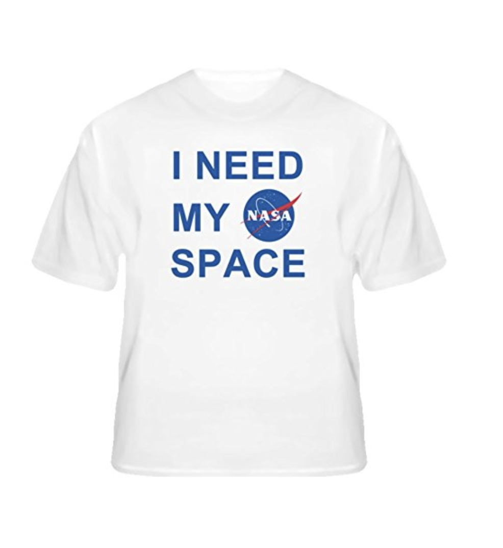 I Need My Space tee