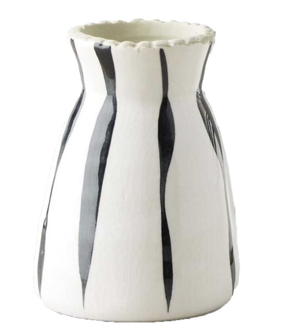 Copy of Copy of Copy of Copy of Anthropologie Striped Vase