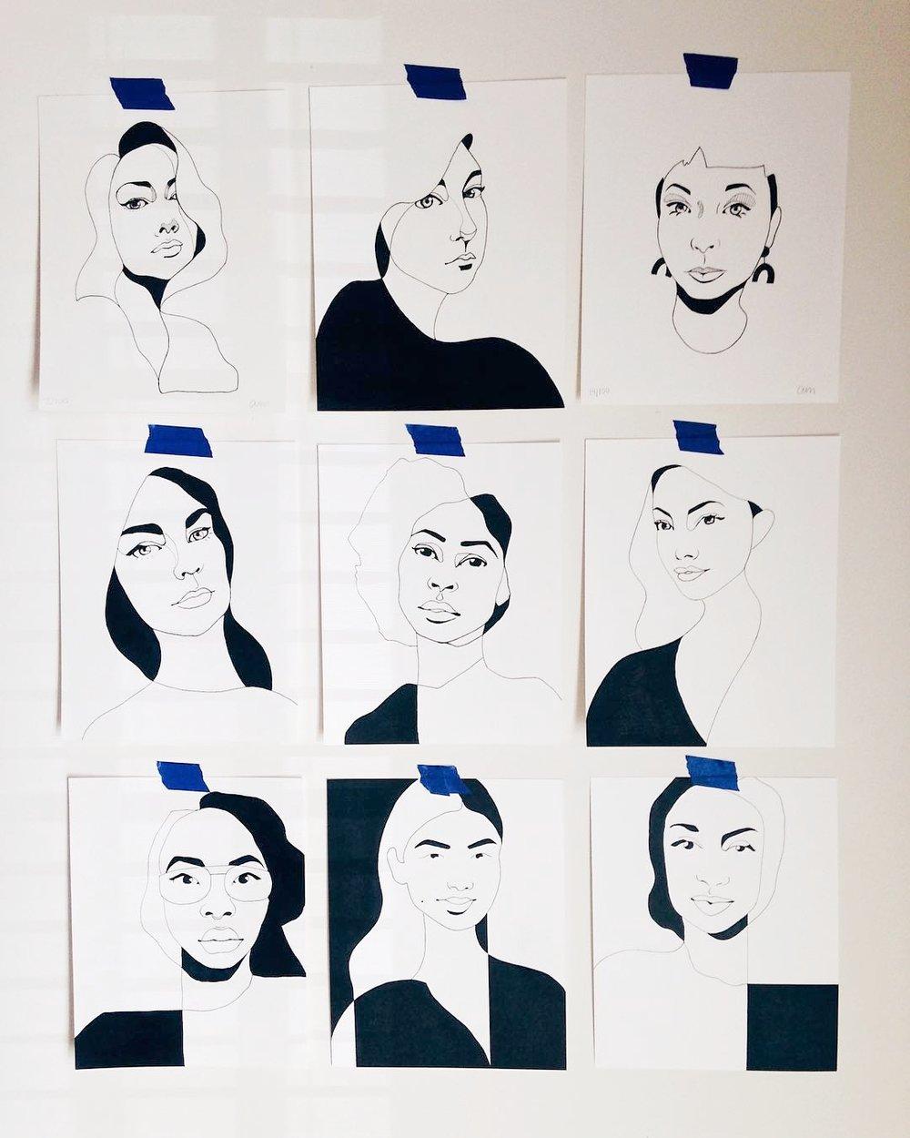 Amber Morgan 100 Portraits of Women