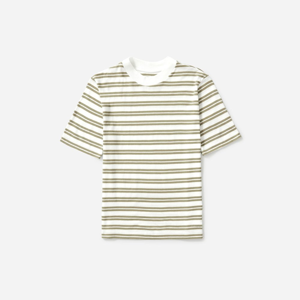 Everlane THE COTTON MOCKNECK TEE