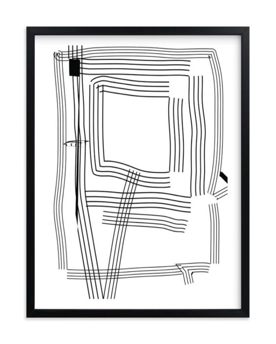 """""""PATH OF LIFE"""" - GRAPHIC LIMITED EDITION ART PRINT BY KISCO PRINT SHOP"""