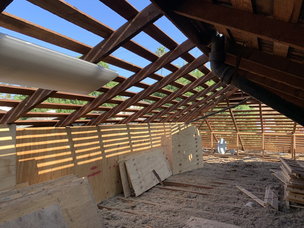 Getting a New Roof Tear Off down to decking view from inside the roof Owens Corning Duration Cool Mountainside-0043.jpg