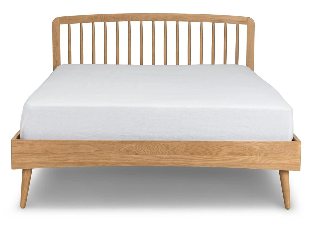 Article Culla Oak Queen Bed