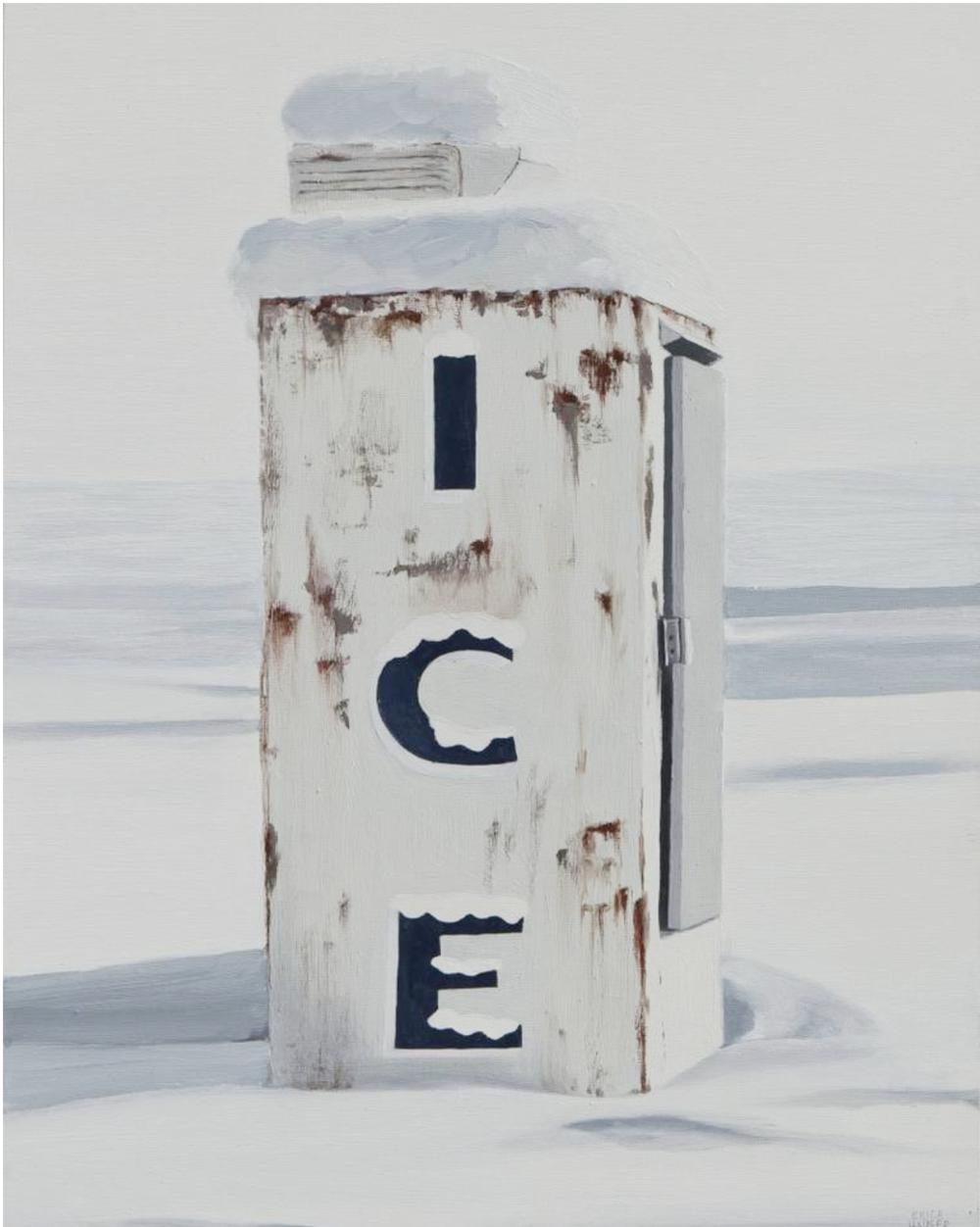 Erica Hauser Ice Machine Print
