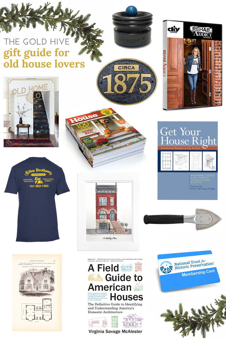 f2c647d7 Gift Guide for Old House Lovers — The Gold Hive