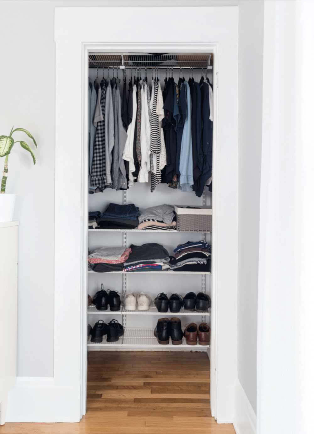 The Gold Hive Most Popular Blog Posts - KonMari Closet Organization
