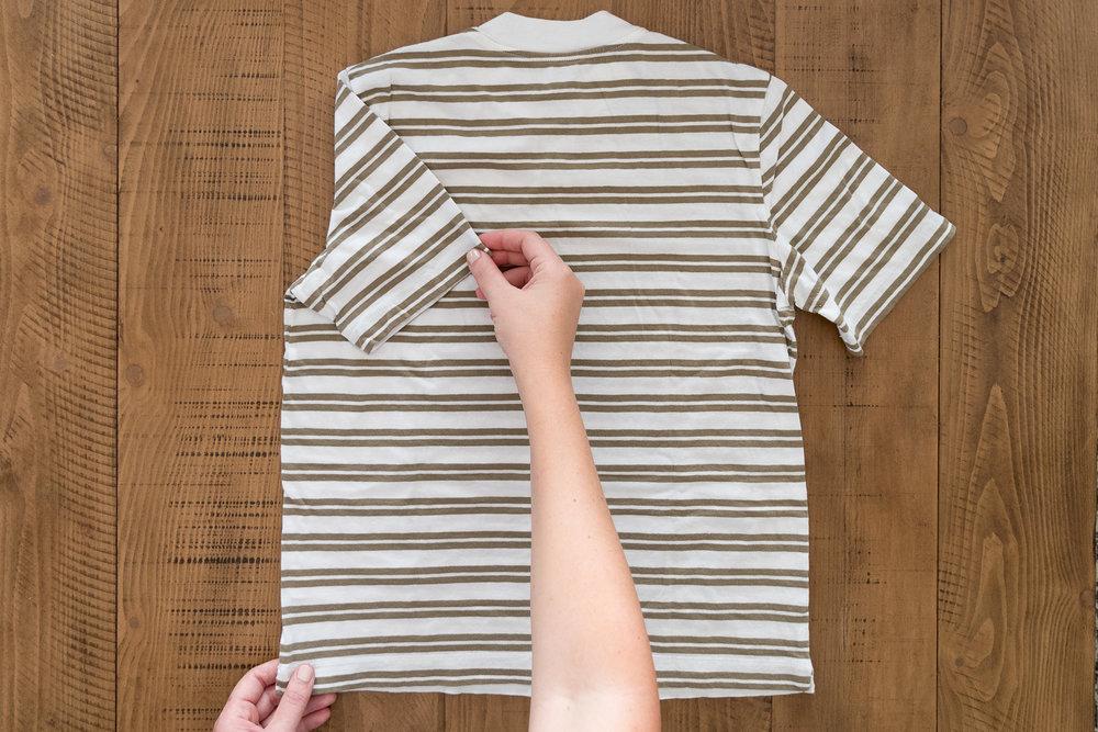 KonMari How to shirt fold Marie Kondo Ashley Goldman The Gold Hive.jpg