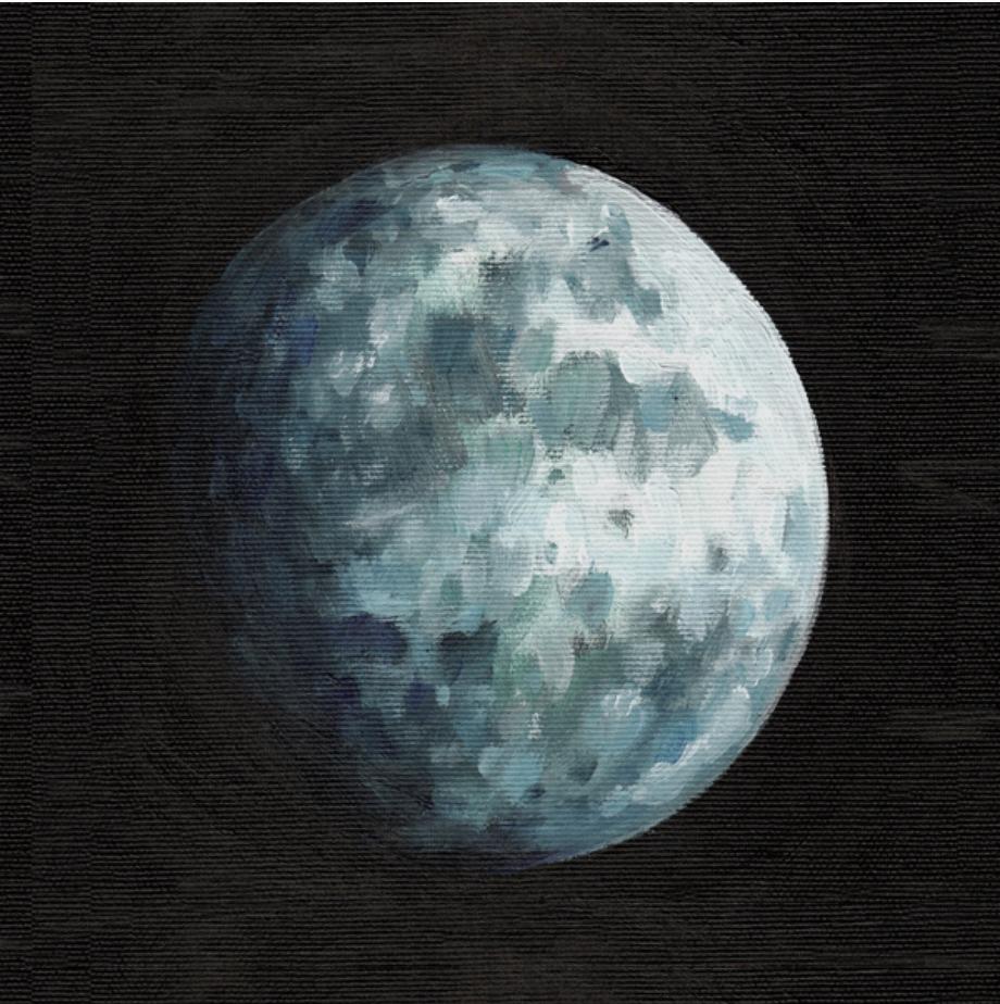 Moon by Tali Yalonetski