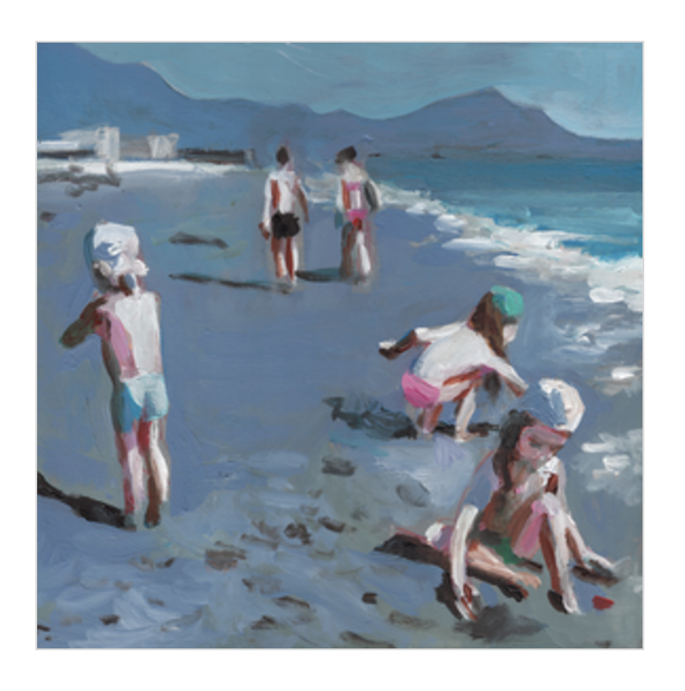 Kids on the Shore  BY TALI YALONETZKI