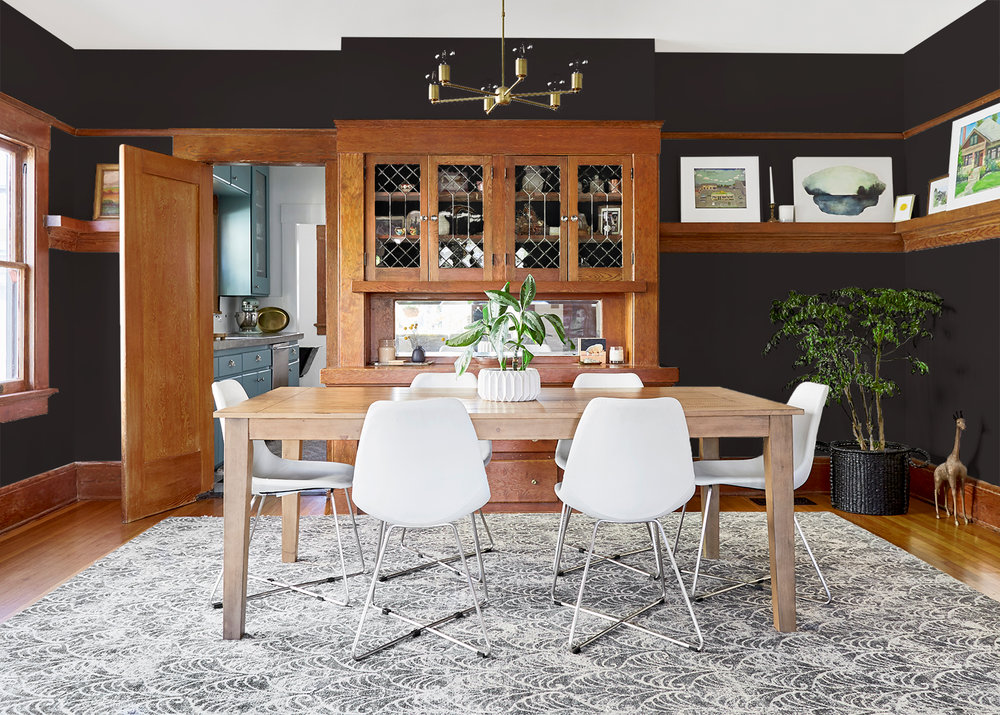 The Gold Hive Dining Room Painted Dark.jpg