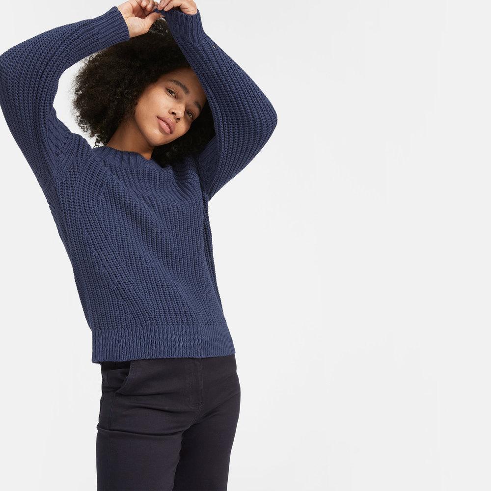 Everlane Cotton Crew Sweater