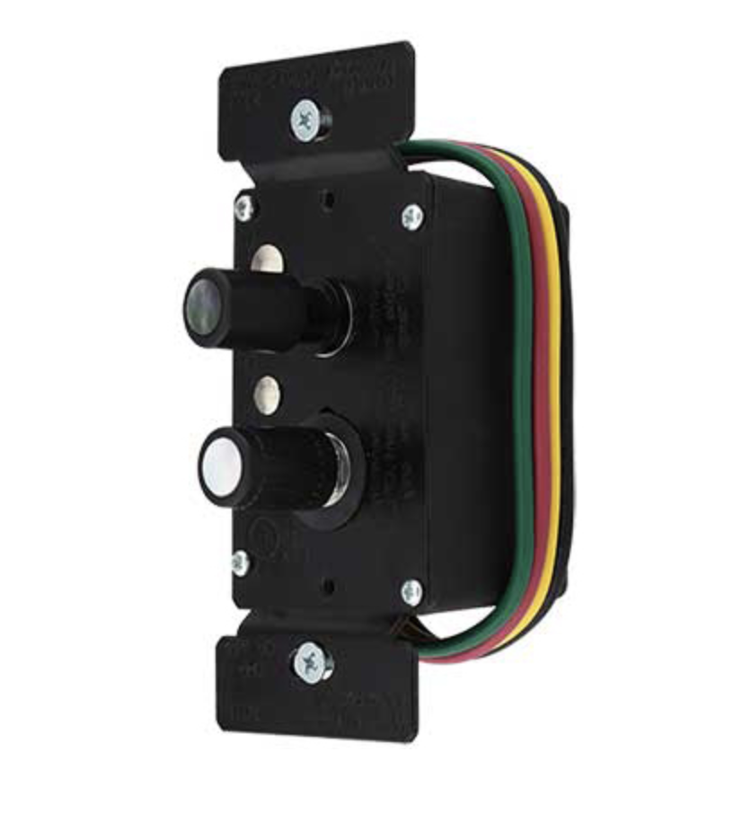 Premium 3-Way Push Button Universal Dimmer Switch with True Mother-of-Pearl Buttons