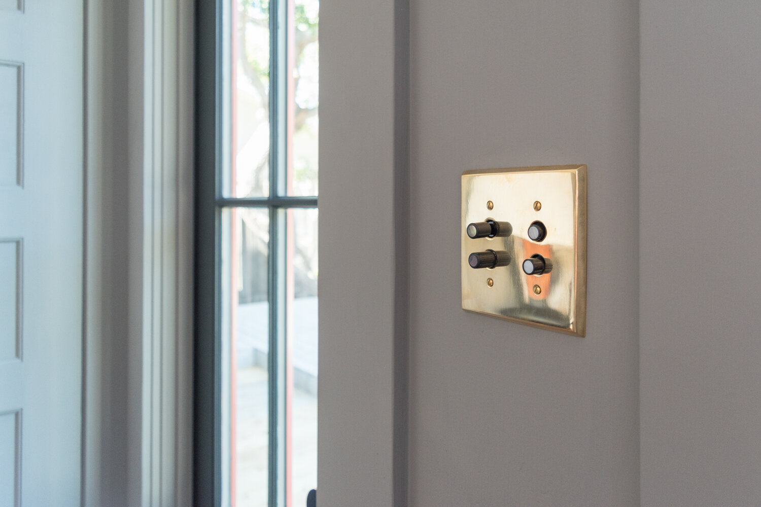 All About Push Button Light Switches The Gold Hive