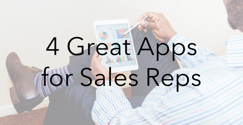 4 Great Apps for Sales Professionals