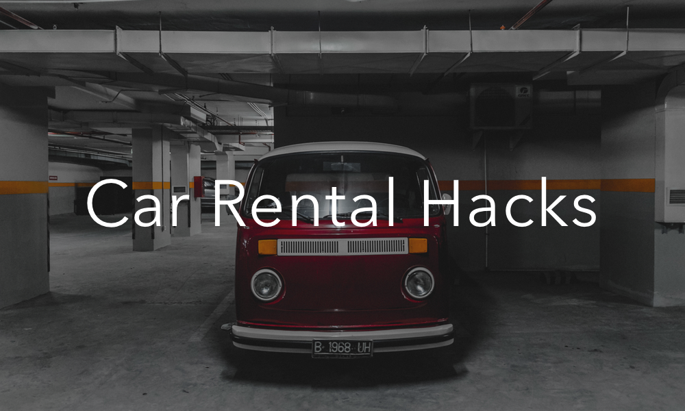 Everlance Car rental hack