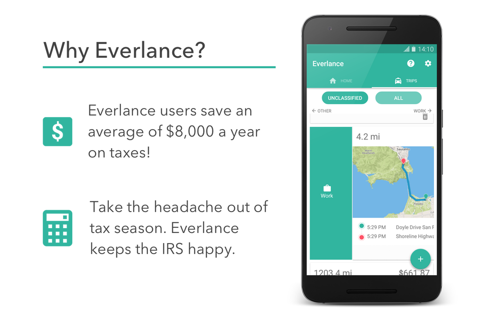 Why Everlance for Android