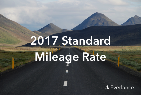 IRS 2017 Standard Mileage Rate