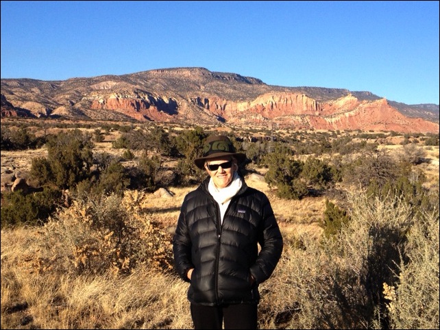 me at ghost ranch