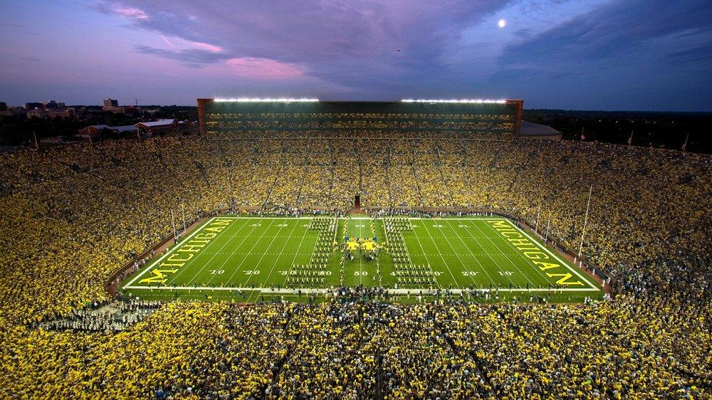 I love college football…well, Michigan Football. -