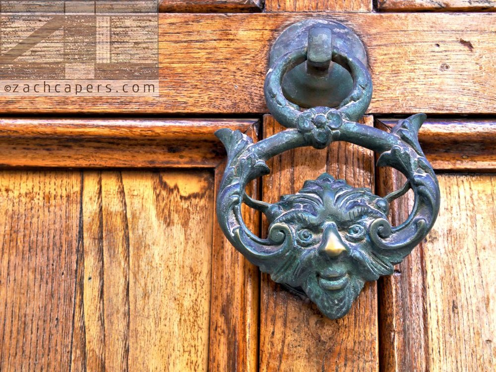 Italian Door Knockers By Zach Capers (4)