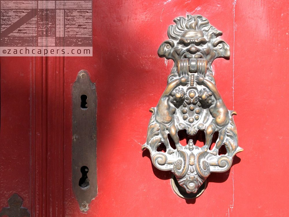 Italian Door Knockers By Zach Capers (7)
