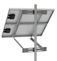 2X-SPM Aluminum Side of Pole