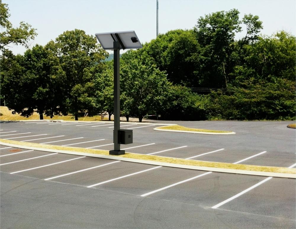 Solar Parking Lot Lights