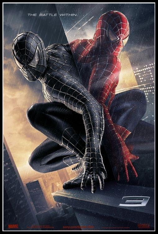 Spider-Man 3 TV - Black