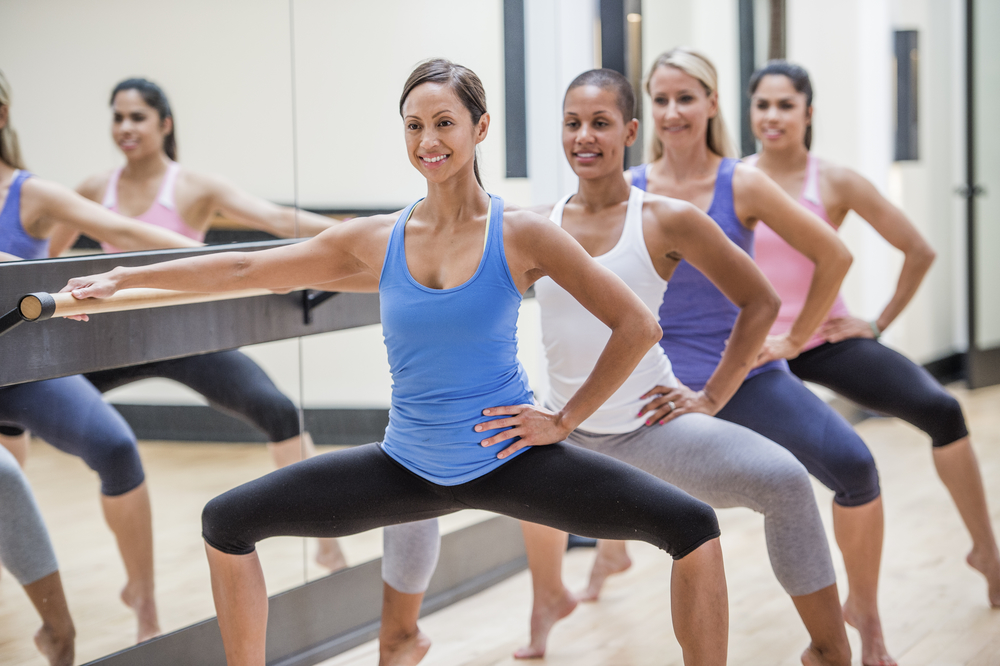 Image and a helpful Beginner's Guide to Barre