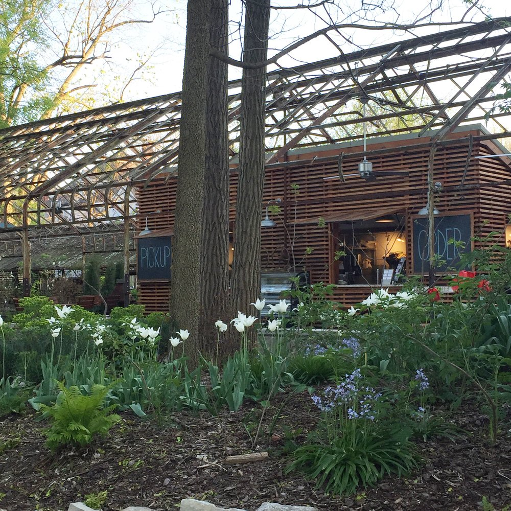 You may notice that there are tulips blooming in this picture. I snapped this last spring, but KY Native Cafe is a beautiful space during all seasons. Check it out if you haven't been!