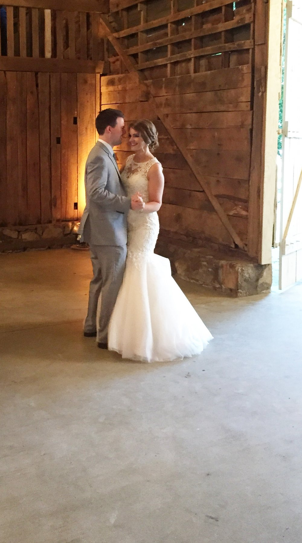 Sarah and Ryan tied the knot!