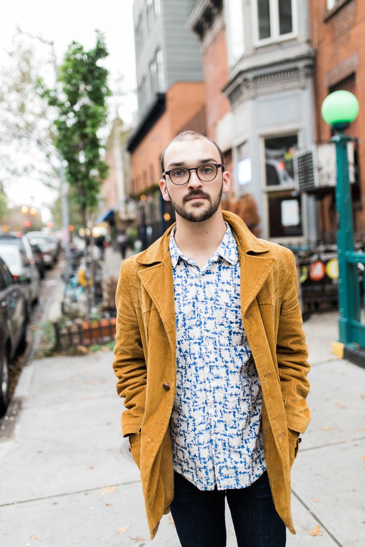 Sam Silbiger Actor Director Lifestyle Headshots Professional Brooklyn New York Fort Greene